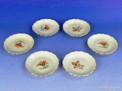 0E600 Régi BAVARIA porcelán tányér készlet 6 darab