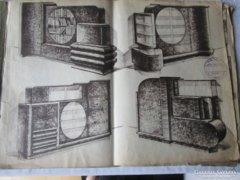 ART DECO NAGY MŰ BÚTOR KATALÓGUS A3 1928 BUDAPEST
