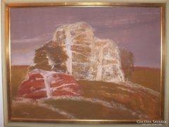 Balogh Ervin festménye : Tavasz c.