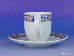 0E604 Alföldi porcelán kávéscsésze és alj