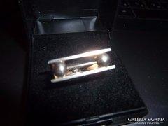 Modernista ezüst gyűrű