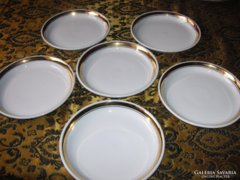 Zsolnay   csemege tányérok