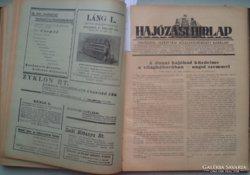 Magyar Kir.Folyam és Tengerhajózási Rt. 1938 - 1939.