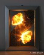 Dekoratív fali lámpa 3 (kagyló) (12OT324)