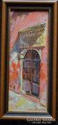 Hadházy Molnár Attila  -Mór ajtó című olajfestménye