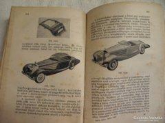 Balla János : Autós ABC ,Antik 1943-as könyv, ,
