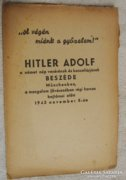 Adolf Hitler beszéde 1943.11.08.