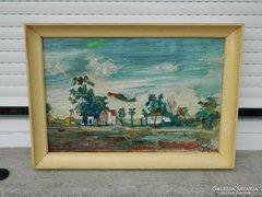 Tóth Rozália eredeti olaj festménye