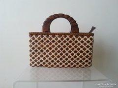 Gyönyörű retró kézi táska!