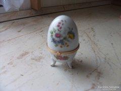 Porcelán tojás, bonbonier eladó!