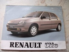 RENAULT Clio német nyelvű szakkönyv eladó!