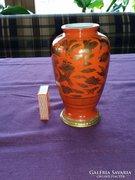 Japán porcelán váza  / 16,5 cm