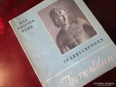 THORWALDSEN SZOBOR ALBUM / BERLIN 1928
