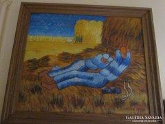 Vincent Van Gogh olajfestmény reprodukció másolat