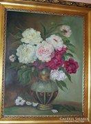 C. Kemenesi A: Hangulatos csendélet vázával