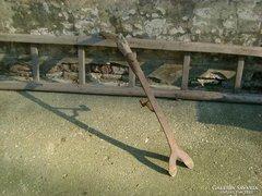 Antik paraszti szerszám - szalma vágó