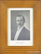 0E362 Fotókeret benne Tömörkény István portré