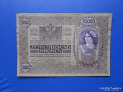 Ritka 2x hajtott 10000 korona 1918!