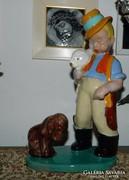 Komlós Vadászfiú nyúllal, neveli a kutyáját RITKA !