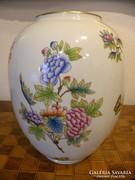 Ritka - Óriás - Herendi Váza (Magasság: 30 - átmérő: 24 cm)