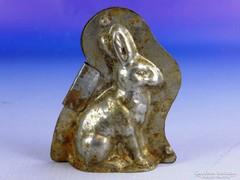 0F267 Antik kisméretű nyuszi csokiöntő forma
