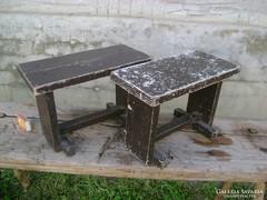 Két darab stabil kis szék, gyermek sámli - együtt eladó