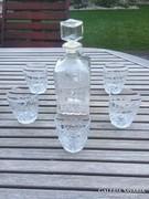 Whyskis üveg 2 db! plusz hatalmas jégtartó 6 pohárral