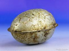 0F337 Antik húsvéti tojás alakú csokiöntő forma