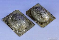 0F342 Antik húsvéti tojás alakú csokiöntő forma
