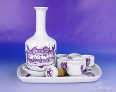 0F176 Alföldi porcelán stampedlis készlet 9 db