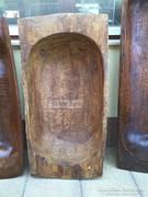 Anti bútor, viaszos fa teknő 04.