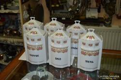 Csehszlovák porcelán fűszertartók