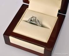 Fehérarany gyémánt gyűrű