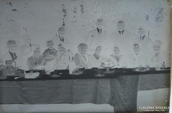 0F631 Antik üveglemez fotográfia üvegnegatív