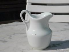 100 éves vastagfalú biedermeier porcelán tejszínes kiöntő
