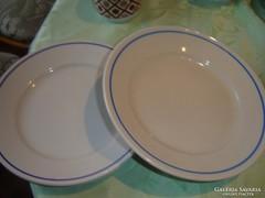Zsolnay kék csíkos tányérok