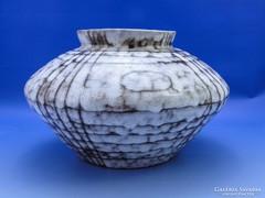 0B761 Retro iparművészeti kerámia váza