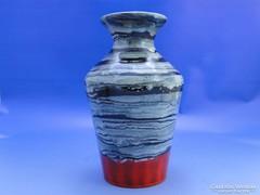 0B982 Retro iparművészeti kerámia váza