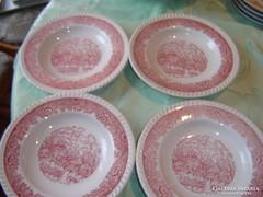 Francia mély tányér 4 darab