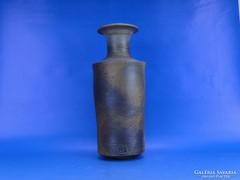 0C724 Retro samott váza BI jelzéssel
