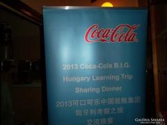 Felállítható Coca-cola rendezvény hírdetőreklám