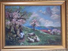 L.Gyergyák J.(enő?) 1929: Tavasz