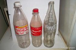 15 db coca-cola retro üveg,ill flakon