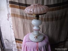 Antik porcelántörzsű asztali lámpa eladó!