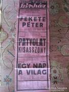 KECSKEMÉT KATONA JÓZSEF SZINHÁZ PLAKÁT 1943
