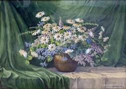 0G543 Krammer F. jelzéssel : Virágcsendélet 1931