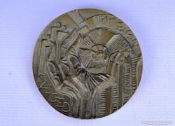 0F225 MTESZ SZEGED bronz plakett