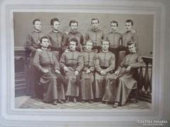 SZEMINÁRIUM 1882 fiatal katolikus PAP OK CSPORT FOTÓ FÉNYKÉP