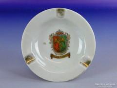 0F510 Régi jelzett BRUSSEL porcelán hamutál