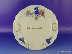 0F585 Régi BAVARIA porcelán tányér